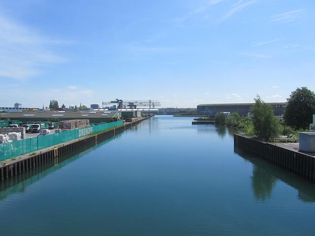 Der Hafen ist etwas gemütlicher als der in Hamburg