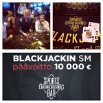 Homma jatkuu: Sports Bar Casino Helsinki isännöi Blackjackin SM-alkukarsintoja PE ja LA klo 15. Päävoittona on 10000 €, lue lisää: www.ray.fi/blackjacksm @raypelit #casinohelsinki #casinosportsbar #blackjacksm #blackjack #kasinopelit #kasinolla #voitollay