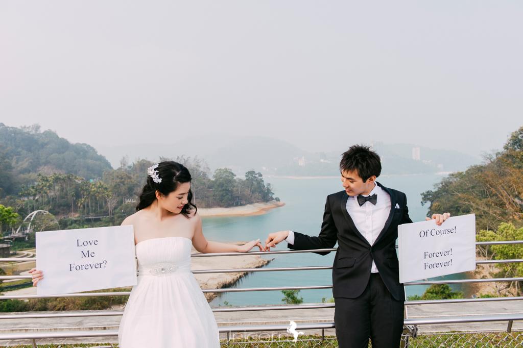 《婚紗》思翰 & 若妤 / 清境農場、日月潭