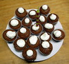 gingerbread cupcakes for Mary Anne, 2 Dec 2015