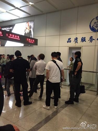 BIGBANG GDTOPDAE arrival Hangzhou 2015-08-25 137