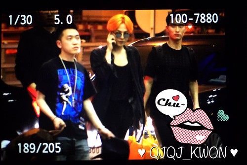 Big Bang - Thailand Airport - 13jul2015 - QjQj_Kwon - 04