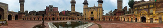 Image of Wazir Khan Mosque. lahore mosque pakistan urban