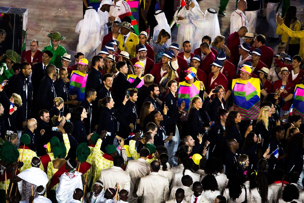 Cérémonie d'ouverture Rio 2016_Copyright Sailing Energy - World Sailing