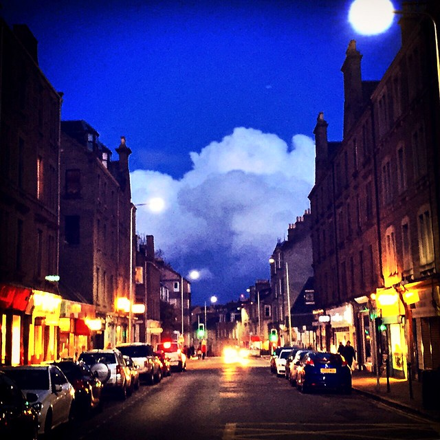 Perth Road clouds, Dundee, Scotland.