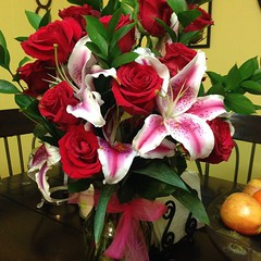 Five and Flowers has awesome ideas for Mother's Day or the love of your life if it's not the same person. 972-850-8769 #5nupflowers #bestmckinney