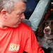 Gary Carroll and dog Diesel - part of the UK's International Search and Rescue team by DFID - UK Department for International Development