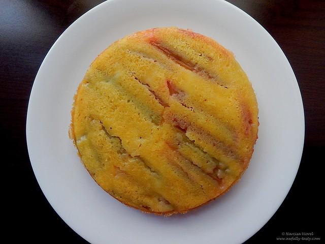 prajitura cu rubarba si portocala
