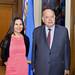 Secretary General Receives Mexican Senator Laura Angelica Rojas