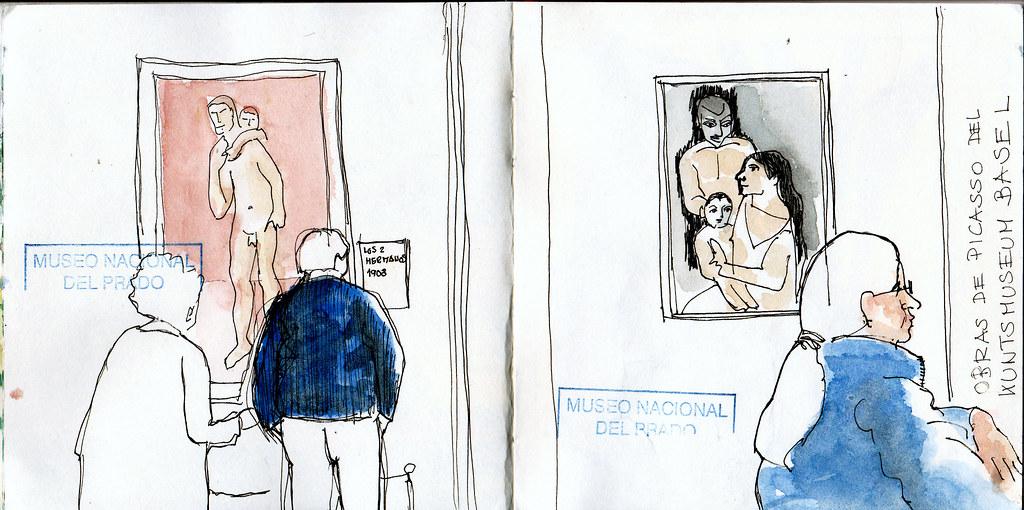 Museo del Prado:  Picassos del Kunstmuseum Basel