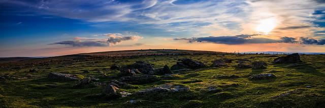 Dartmoor sunset