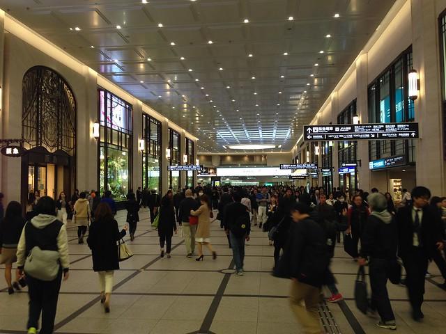 Umeda subway station