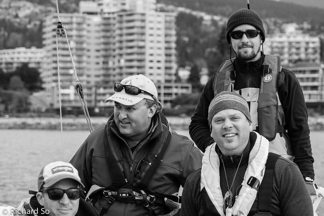 Ultraman Crew, minus the foredeck