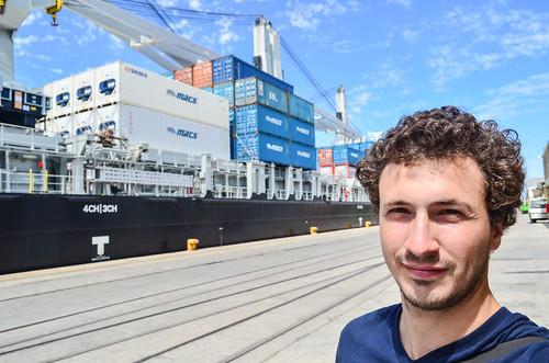 Vessel docked