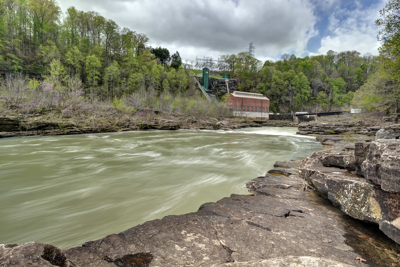 Powerhouse, Caney Fork River, Rock Island State Park, White County, Tennessee