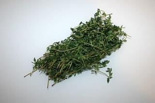 03 - Zutat Thymian / Ingredient thyme