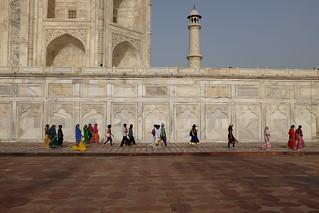 صورة Taj Mahal قرب Āgra. white colour taj mahal tajmahal agra marble