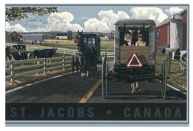 Ontario - StJacobs - cariage