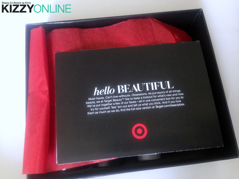 Target Spring Beauty Box 2015 giveaway