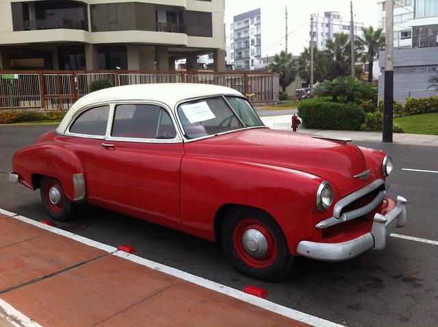 Antique Car in Miraflores