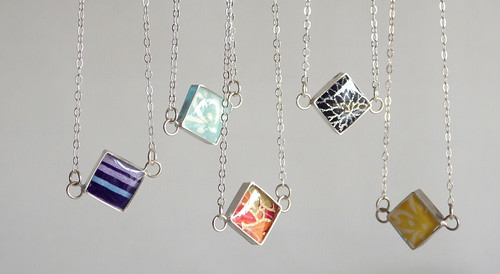 Blossom and Shine Diamond Necklaces