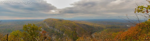 View from Mt. Tammany, NJ