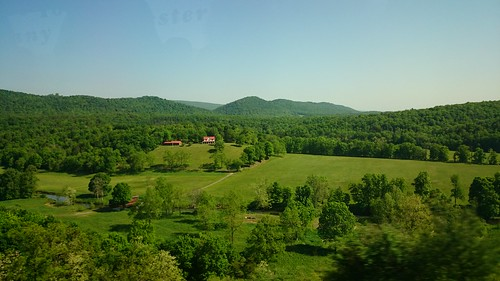 I-70 through the Appalachian ridges