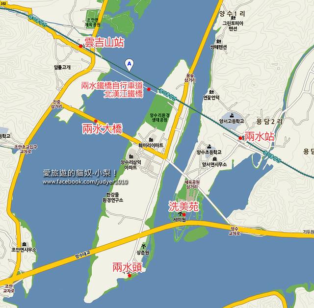 兩水站地圖