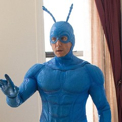 Our 1st look at #thetick and this just looks horrible!! All I have to say is the writing better be AMAZING #thetick #amazon #constantcollectible #geekculture #imisspatrickwarburton
