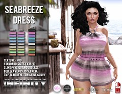 !NFINITY Seabreeze Dress w.HUD