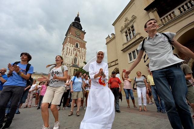 Młodzi w Krakowie