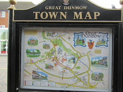 5th, Great Dunmow Town Map IMG_3714