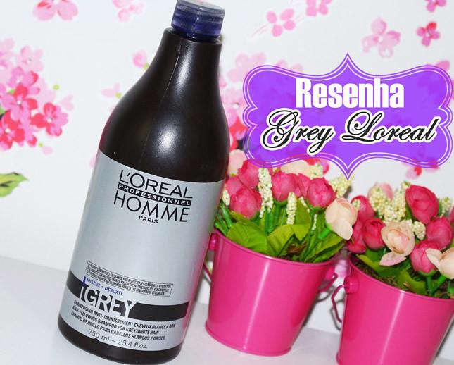 resenha grey loreal