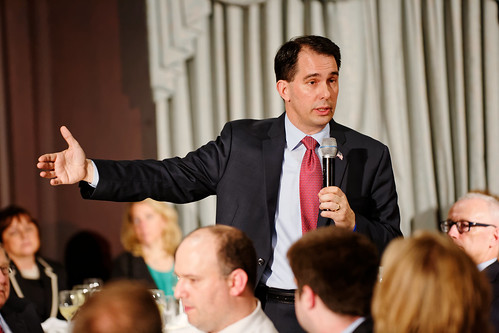Governor of Wisconsin Scott Walker at #FITN in Nashua, NH 2015