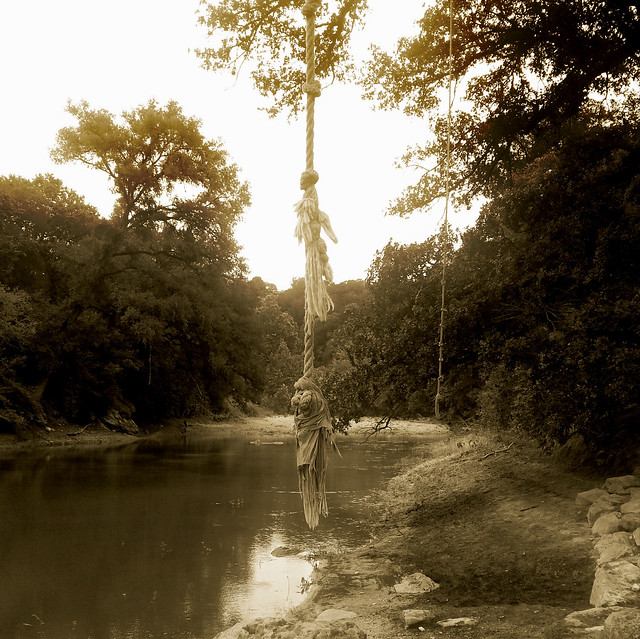 Rope swing barton creek greenbelt austin texas flickr for Barton creek nursery