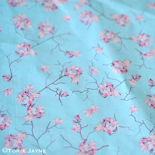 Rico Cherry Blossom paper patch paper