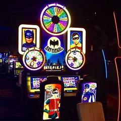 machine, signage, slot machine, games, neon sign,