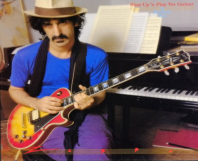 Frank Zappa Shut Up N Play Yer Guitar 3lp Box Set