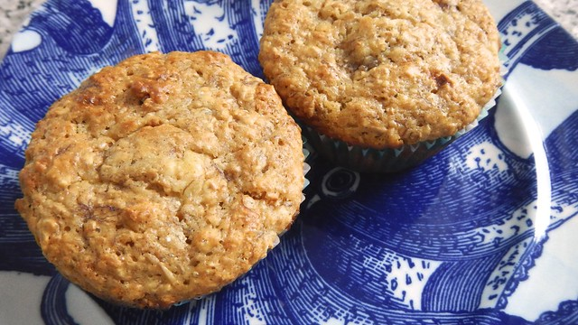 Banana Oat Bran Muffins 15