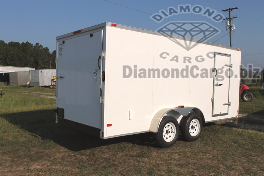 Diamond Cargo 7 X 16 Enclosed Trailers