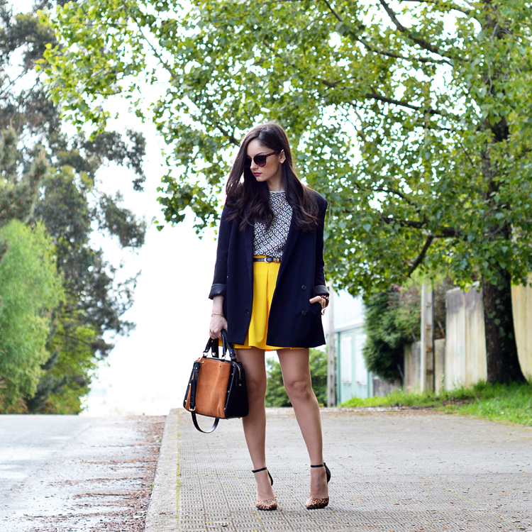 Zara_ootd_outfit_yellow_animal_print_blazer_08