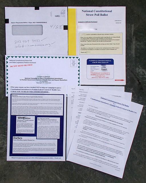 Citizen Guardian junk mail