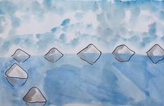 #antarctica #surreal #surreallism #surrealplaces #watercolour #watercolours #watercolourpainting #art #cartoon #drawing #painting