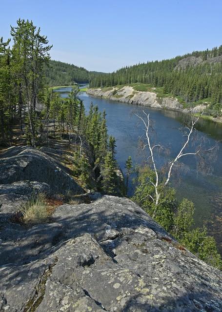 Cameron Falls Hike, Yellowknife, NWT