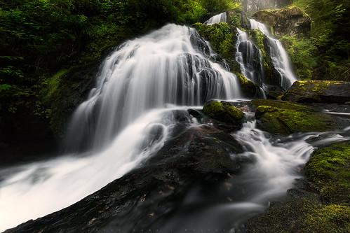 morning water vancouver waterfall rocks britishcolumbia falls waterfalls mission steelheadfalls jasondarr