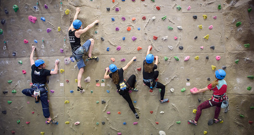 Climbing Wall at the Centre for Sport