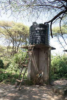 Water Tank for trucked-in water