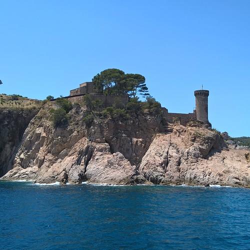 tossa de mar sea spain hiszpania costa brava morze holiday wakacje eurotrip