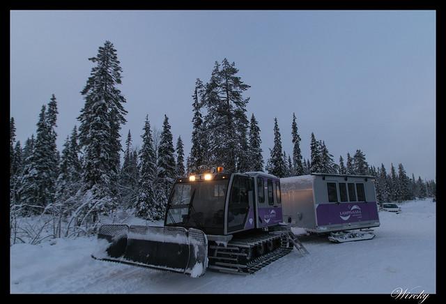 Laponia iglú cristal mina amatistas sauna finlandesa - Vehículo especial Pendolino