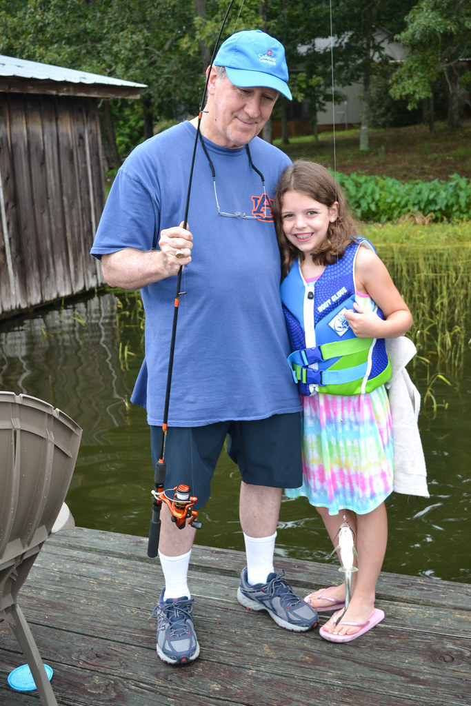 Fishing with Grampa